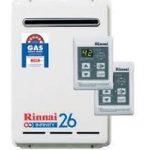 Rinnai gas hot water system