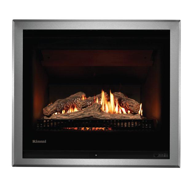 Rinnai 750 Gas Log Fire   Rinnai Gas Heating   Natgas